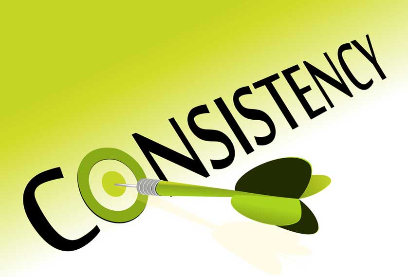 Clients love consistency