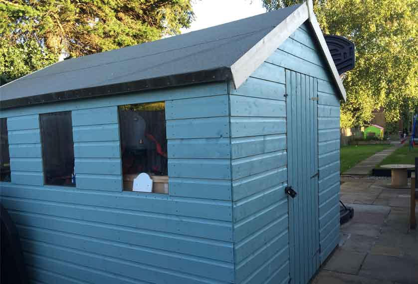 Paul's shed
