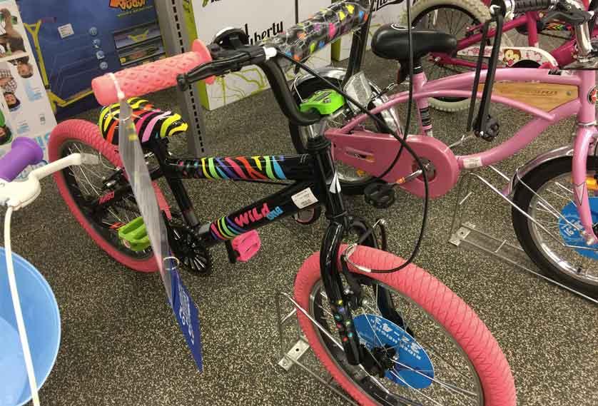 My daughter's new bike