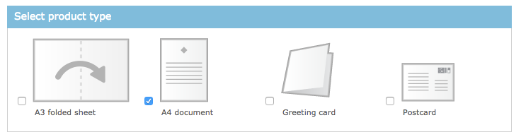 Format Type of Mail in DocMail