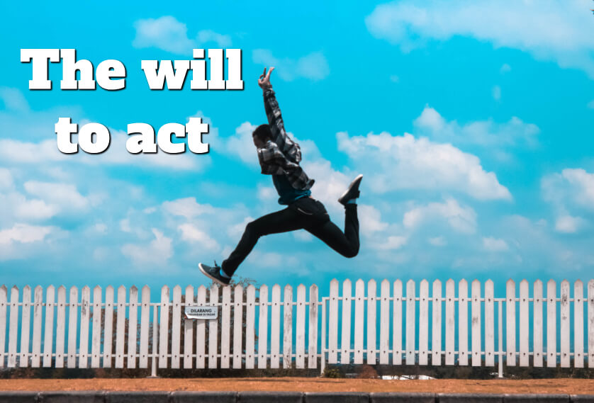 The will to act