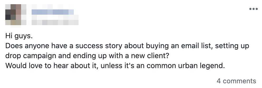 Facebook Post   Paul Green's MSP Marketing
