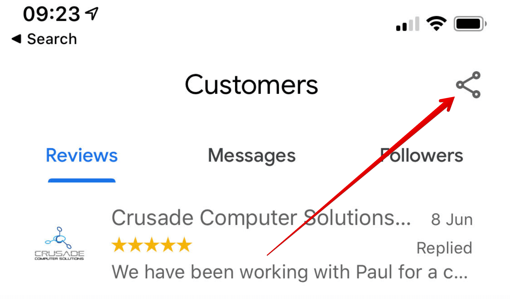 Getting Google My Business Reviews | Paul Green's MSP Marketing