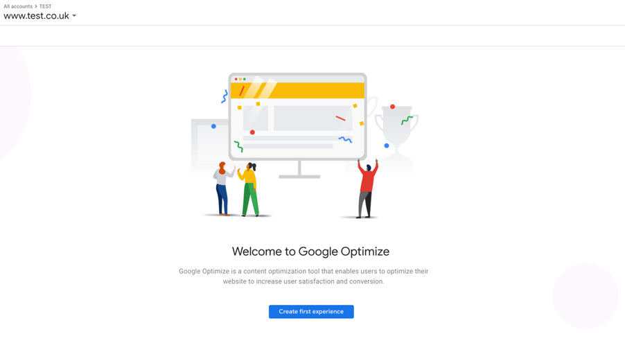 Google Optimize for MSPs
