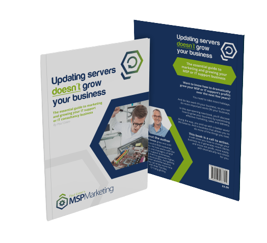 MSP Marketing Book - Updating Servers doesn't grow your business