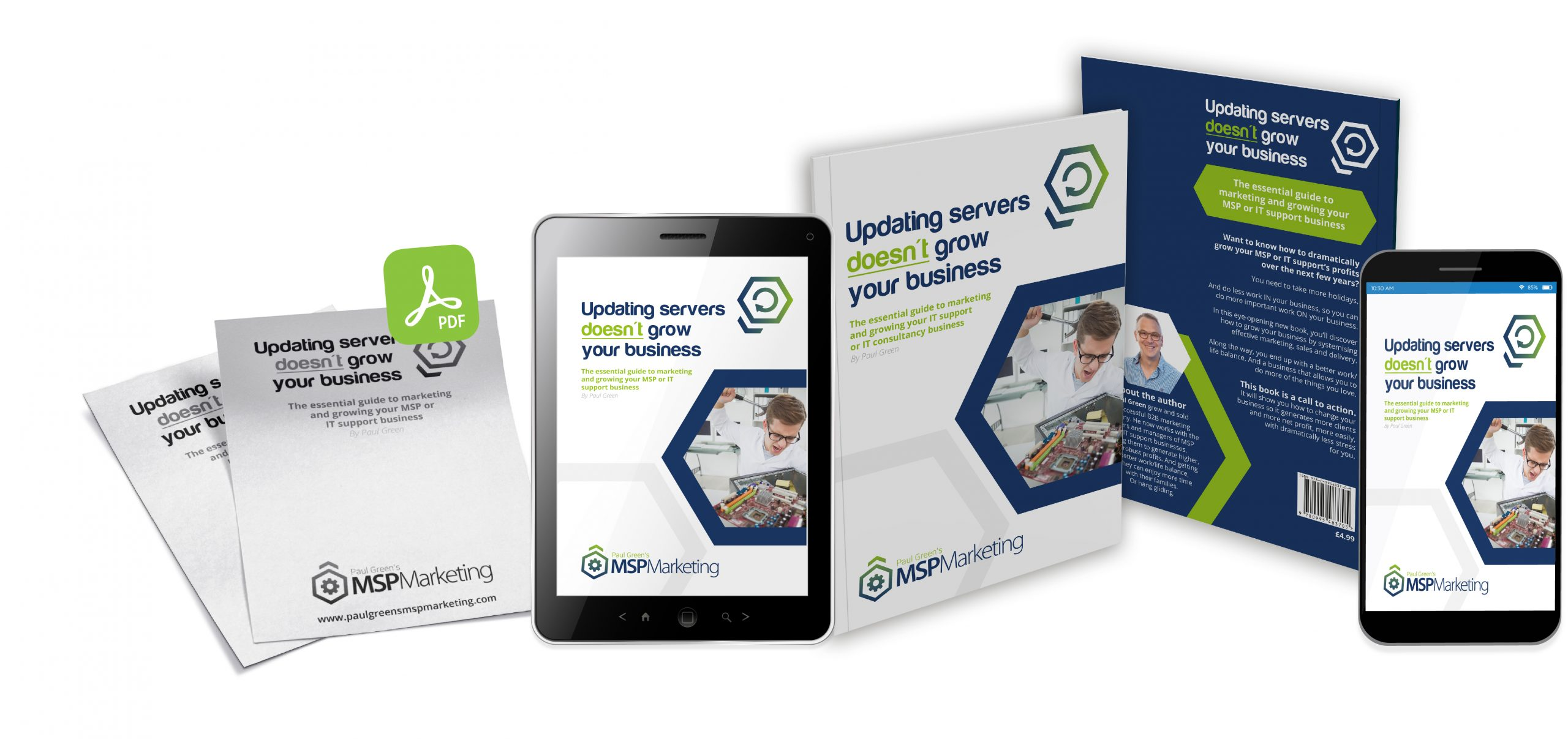 Paul Green's MSP Marketing   Marketing Materials available