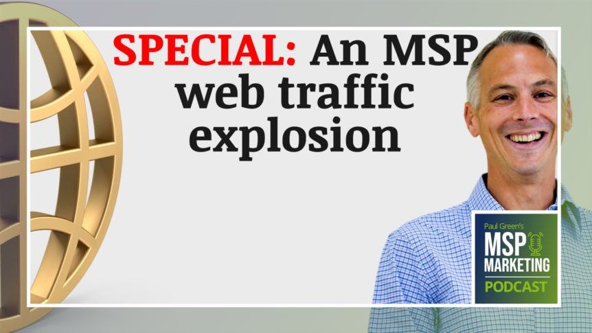 Episode 95: Special: An MSP web traffic explosion